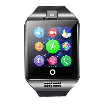 Smart Watch Reloj Inteligente, Monitoreo De Salud, Recordatorio De Llamadas, Paso Deportivo, Disparador Automático Remoto Bluetooth, Compatible con ...