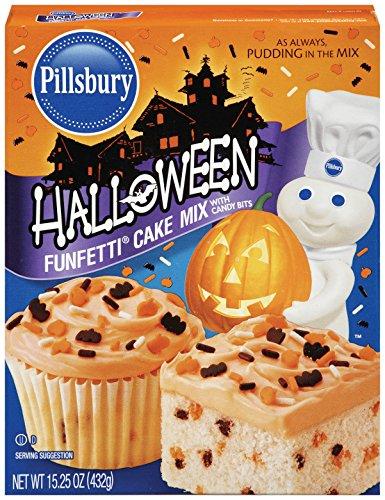 Pillsbury Funfetti Halloween Cake Mix, 15.25 Ounce