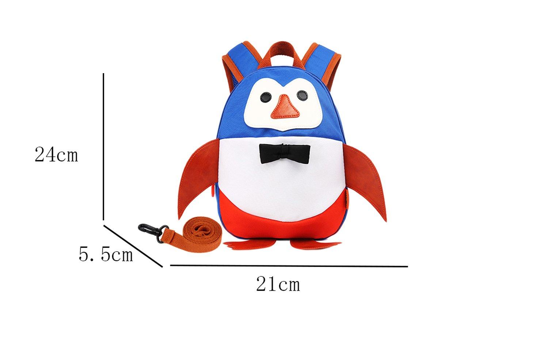 SMS anti-lost de pingüino dibujos animados animales bebé mochila ...
