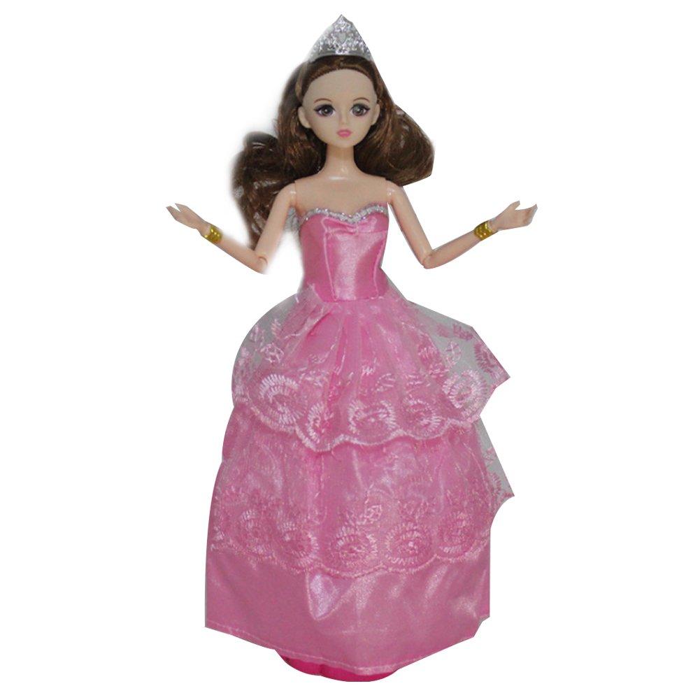 Newin Star Puppe Kleid, Barbie Puppe Kleid Handgemachte Barbie Party ...