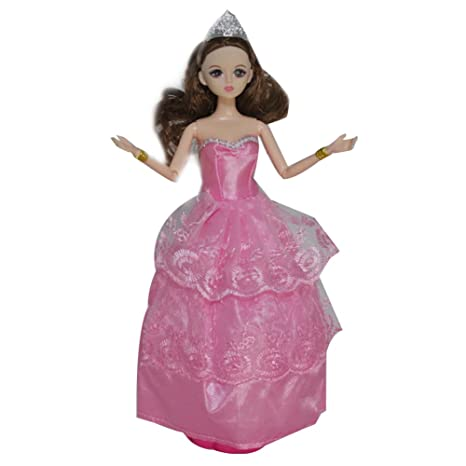 Falda Juguete Para De MuñecaVestidos Barbie Fiesta esWilk Amazon BrodexC