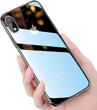 Mture Funda iPhone XR, Carcasa iPhone XR Silicona Protección TPU Funda Gel iPhone XR Bumper Case Cover de Protección Antideslizante Caso para iPhone XR: Amazon.es: Electrónica