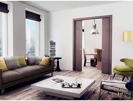 Contrapeso puerta doble grosor pared 125 mm Gold base doble cofre - Dimensiones: 140 x 210 mm: Amazon.es: Bricolaje y herramientas