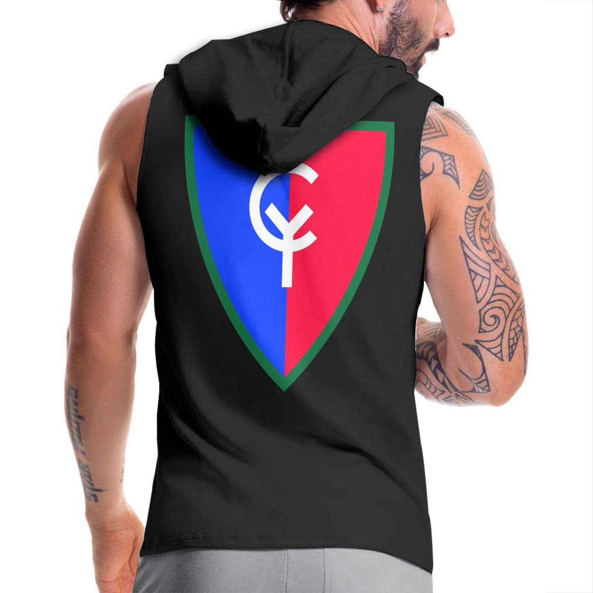 38th Infantry Division Mens Hipster Hip Hop Hoodies Shirts