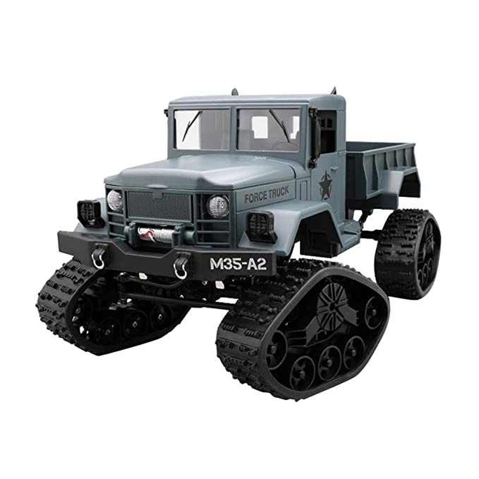 Amazon Com Yezijin Remote Control Car Rc Military Truck Army 116