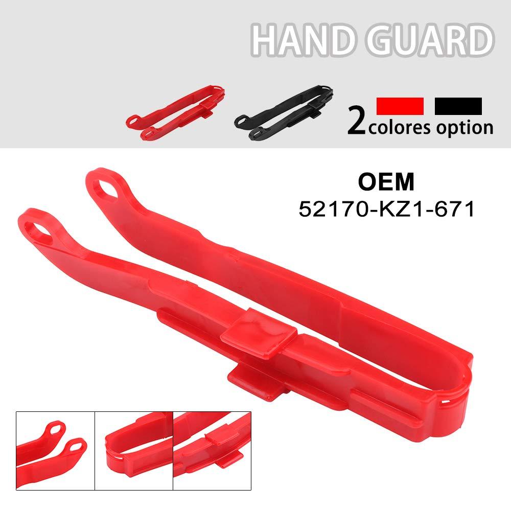 Motorcycle Chain Slider Swingarm Protector Plastic For XR250R 1991-2004 XR400R 1996-2004 XR600R 1991-2000 XR650L 1993-2019 Red