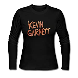 LCNANA Kevin Garnett The Big Ticket Women's Cotton T-Shirt Black S