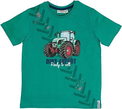SALT AND PEPPER Baby Jungen T-Shirt,Shirt Feuerwehr in Storm Blue