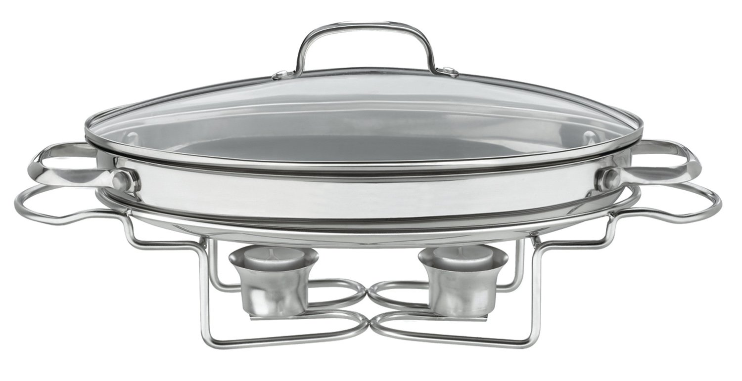 Cuisinart 733-30HW Braising Pan Chef's Classic 5.5 Qt Cover, Medium, Stainless Steel