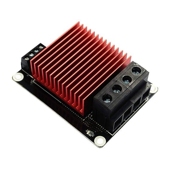 Hrph Controlador de calefacción de piezas de impresora 3D MOSFET de MKS para el módulo del MOS de la extrusora de la cama del calor