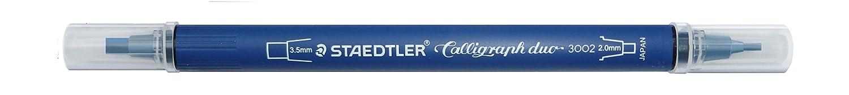 STAEDTLER Kalligraphie Doppelmarker Keilspitze 5er Etui