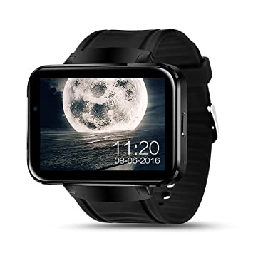Amazon.com: LEM4 Android Smart Watch Phone Support GPS SIM ...