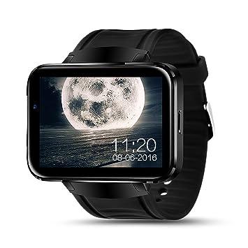 Amazon.com: LEM4 Android Smart Watch Phone Support GPS SIM ...