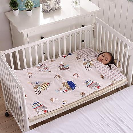Saco de dormir neutro para bebé, algodón antichoque, tipo de sobre suave y cómodo, modelos de otoño e invierno, edredón de guardería infantil cálido: Amazon.es: Bebé