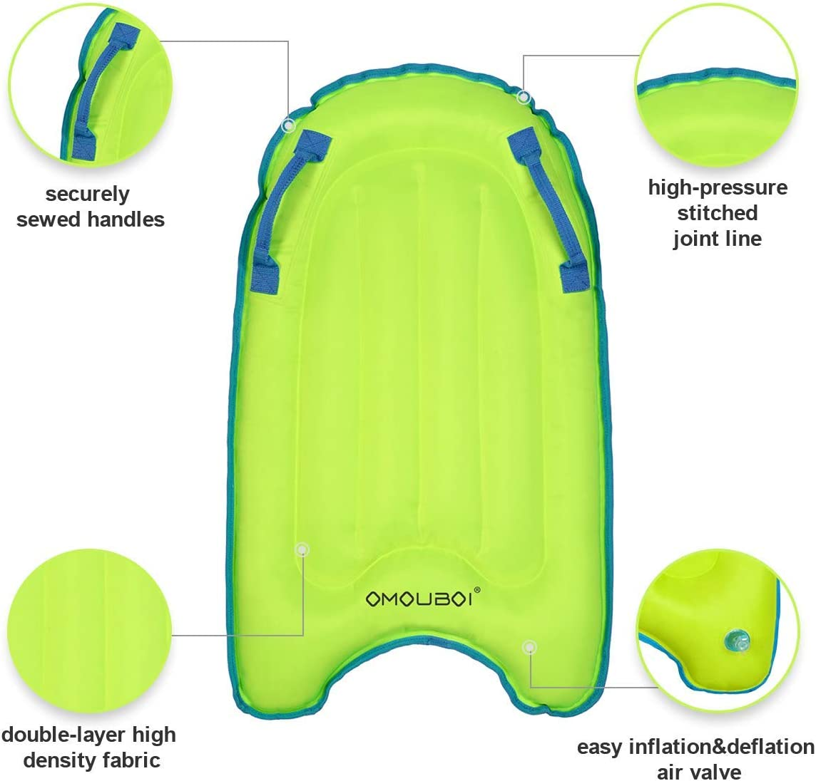Amazon.com: OMOUBOI - Tabla de surf hinchable para niños ...