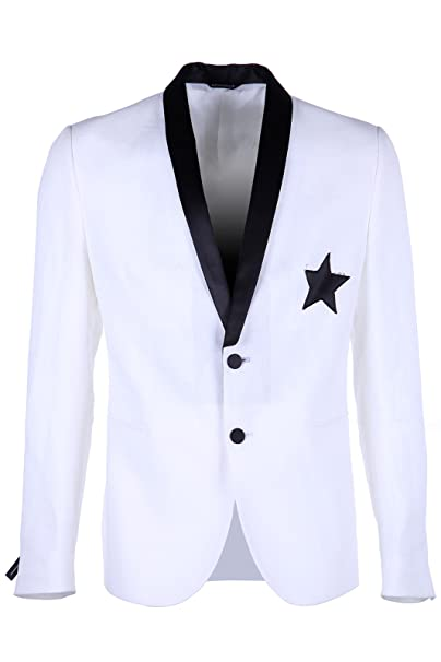 Daniele Alessandrini cazadoras hombres americana chaqueta nuevo blanco EU 48 (UK 38) G2169S14903501 2
