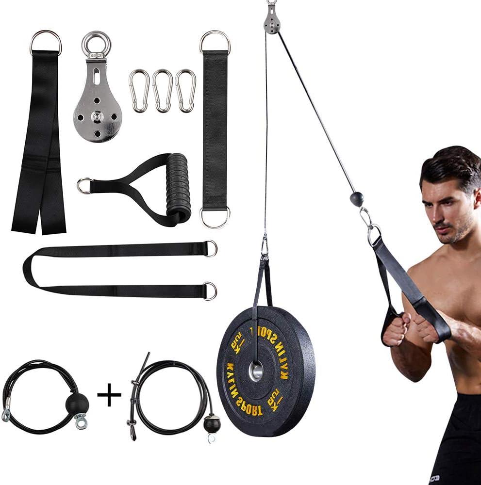 fdbro rullo trainer per polso e avambraccio esercizio sistema puleggia braccio rafforzamento allenamento casa