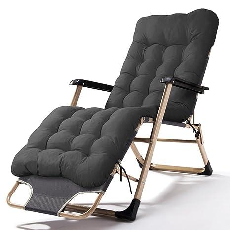 Pleasing Amazon Com Folding Chairs Patio Reclining With Cushions Machost Co Dining Chair Design Ideas Machostcouk