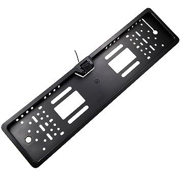 Buyee 170 Degree 4 IR LED de visión nocturna Reverse coche trasera vista de ángulo placa