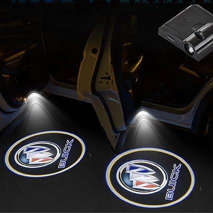 Bestmy For B uick Logo - 2 luces LED inalámbricas para puerta de ...