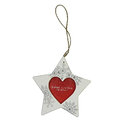star photo frame xmas christmas tree decoration new 24606