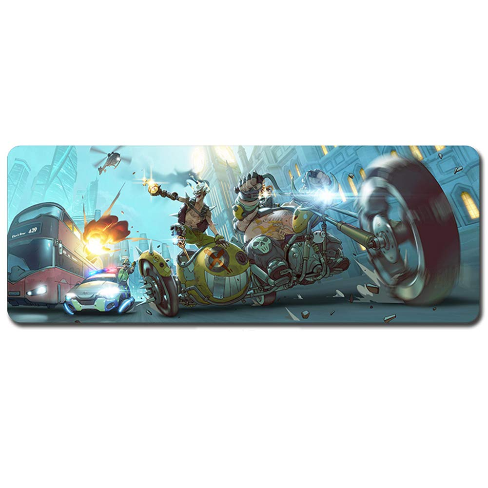 YEQQ Large Gaming Mouse pad, 900x 400x 3mm Extended XXL Mouse Pad, Waterproof Mouse Pad Large Size Table Mat, Game Peripherals-10 by YEQQ