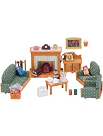 Dolls accessories toys games dolls doll - Calico critters deluxe living room set ...