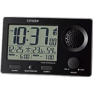 シチズン 大音量電波目覚まし時計 スーパークリアトーンF 8RZ149-002
