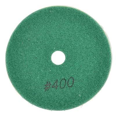 "Specialty Diamond BRTW4400 400 Grit 4"" 3mm Thick Diamond Wet Polishing Pad: Home Improvement"
