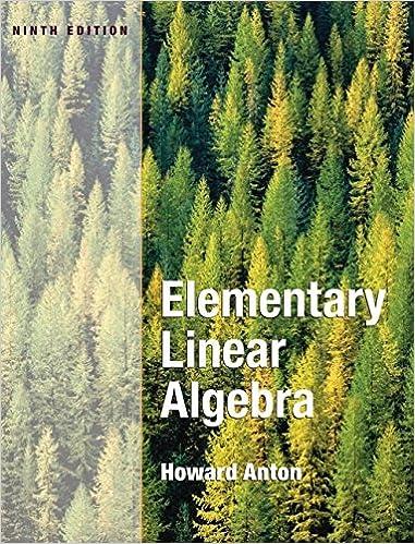 Elementary Linear Algebra Howard Anton Pdf