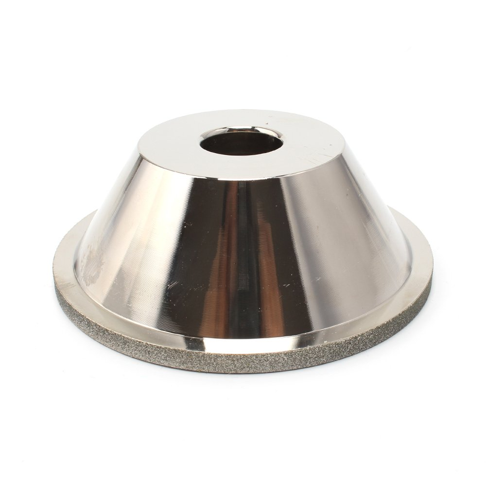 4-inch(100mm)Bowl Shape cup Diamond Grinding Wheel with abor 4/5''(100#)