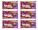 twizzlers grape - Twizzlers, Fruit Punch Pull 'n' Peel Licorice Chewy Candy, 12 Oz (Pack of 6)