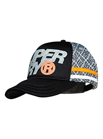 3a9d8a671 Superdry Men's Baseball Cap (M90019MT_Jet Black/Silver Grey_Os ...