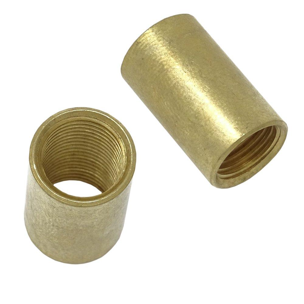 Manguito de lató n 15 x 20 mm M13 x 1 conexió n de rosca interior ROH manguito de rosca Tubo 2 unidades) C. Palme Leuchten