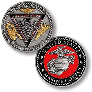 Marine Corps Air Station Kaneohe Bay Challenge Coin
