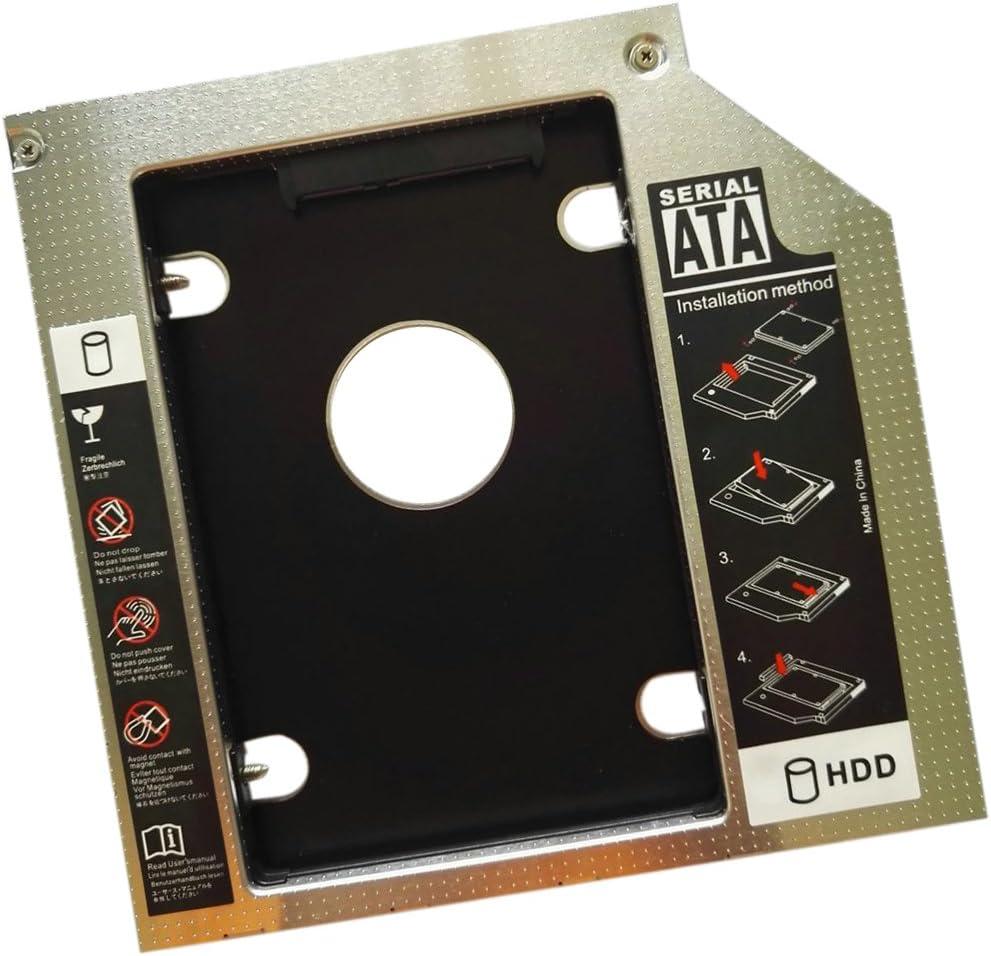 MagiDeal 12.7 mm SATA Segundo Ssd HDD Disco Duro Caddy CD/DVD-ROM ...