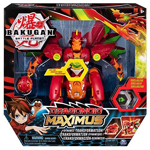 Bakugan Figura Dragonoid Maximus Sunny