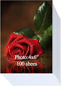 Glossy Photo Paper 4x6 inch 200gsm 100 Sheets