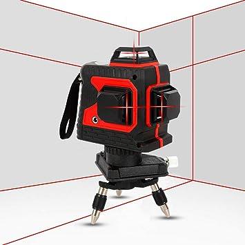 650nm 3D Level Laser 360 ° Automatische Kreuzlinienlaser Lasermessgeräte
