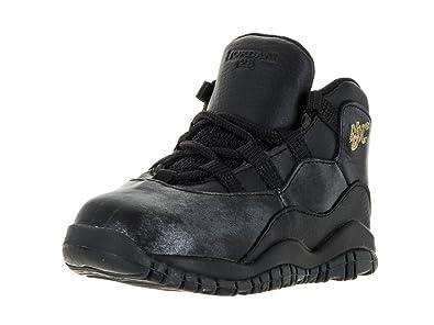 new style 2f9ab 8c8e3 Nike Jordan Toddlers Jordan 10 Retro Bt Basketball Shoe