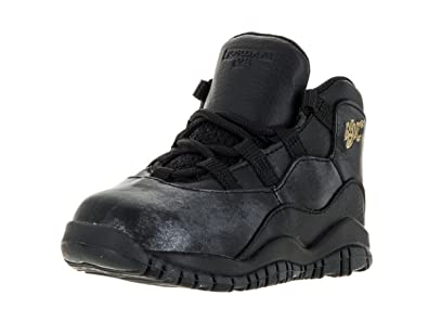 new style b932d 0739b Nike Jordan Toddlers Jordan 10 Retro Bt Basketball Shoe