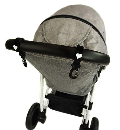 Ganchos Carrito Bebé Pack de 2 universal para colgar pañales ...