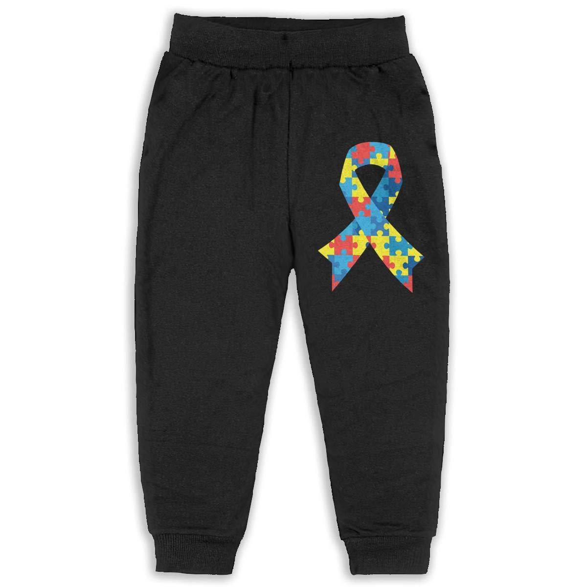 Classic Girls Boys Jersey Pant Autism Awareness Kids /& Toddler Pants