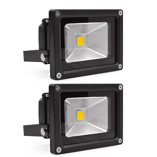 vidaXL - Proyector LED de pared (2 unidades, 230 V, 10 W, IP65 ...