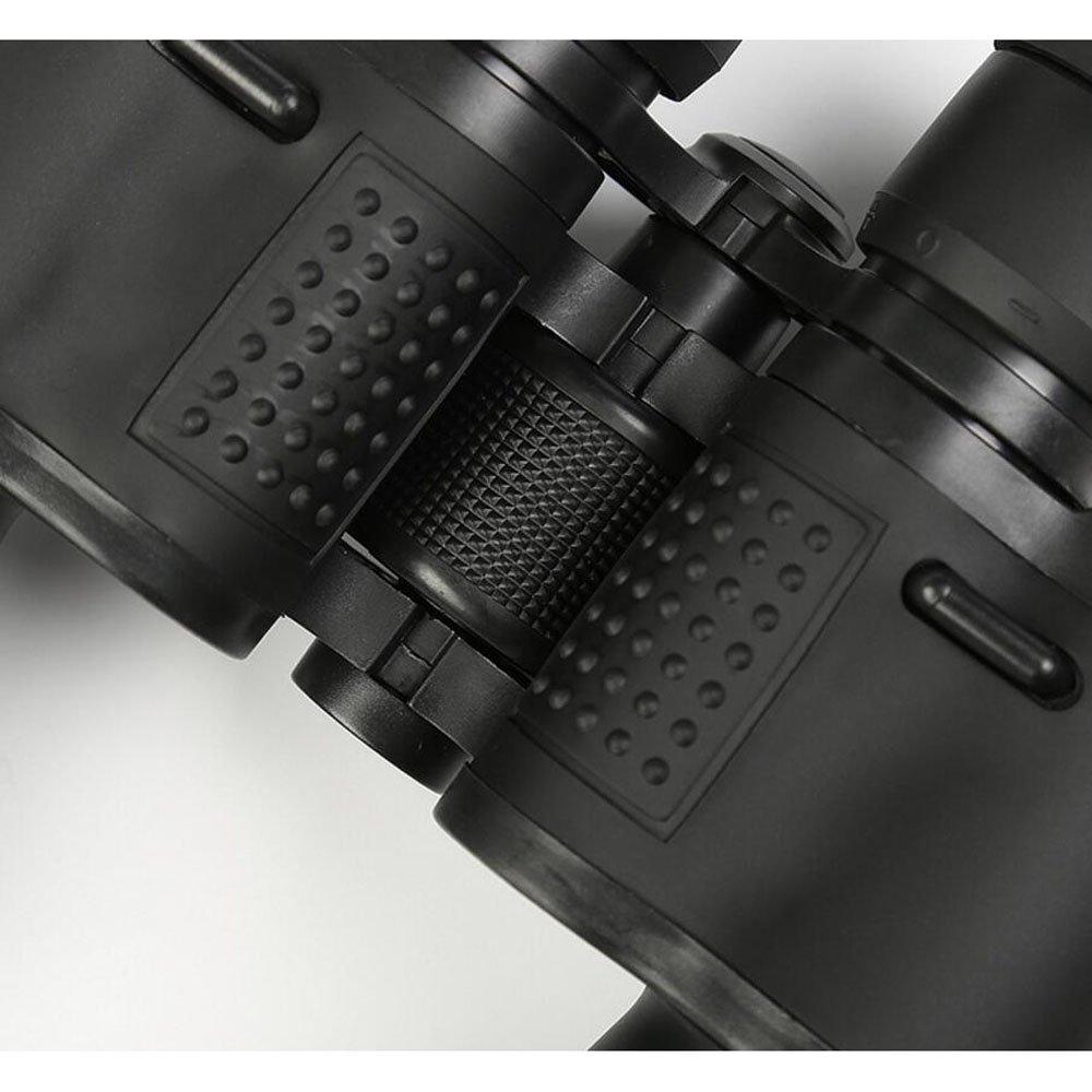 MPEN Prismáticos12 Veces con para BAK4 Prism - Potentes binoculares de tamaño Completo para con observación de Aves, Deportes, visitas turísticas - Durable, con Estuche y Tapas de Lentes (Color : Negro) 3134ce