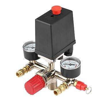 WOVELOT - Interruptor de presión ajustable del compresor de ...