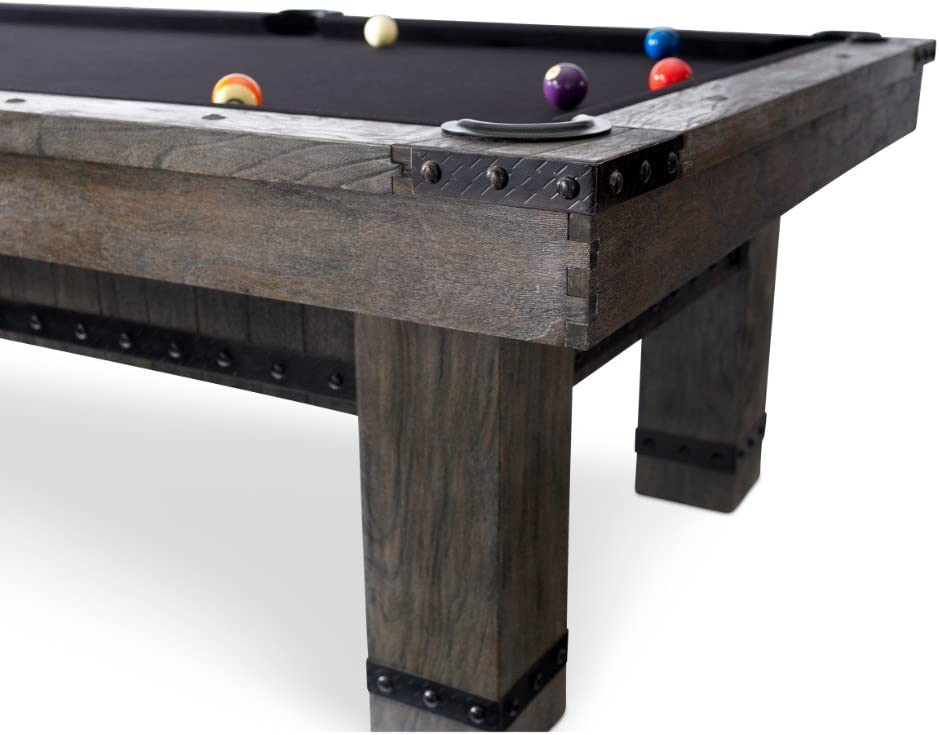 8/' Tabletop Billiards for Game Room Entertainment Table Morse Billiard Pool Table
