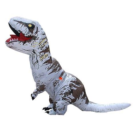 YOWESHOP T-Rex - Disfraz Hinchable de Dinosaurio - Disfraz de ...