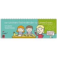 Der Wochen-Tischkalender für LehrerInnen – Schuljahr 2019/2020