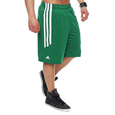 adidas pantaloni basket verde